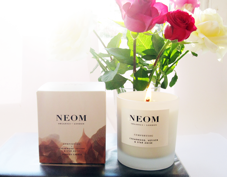 A picture of NEOM Comforting Candle review