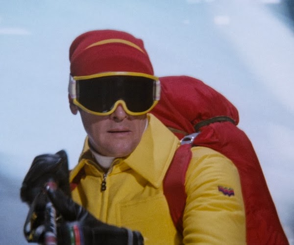 "Bogner yellow Ski-Suit in James Bond film ""The Spy Who Loved Me"""