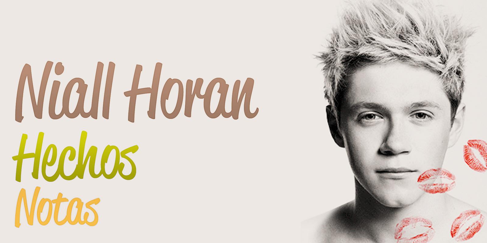 Niall Horan Hechos