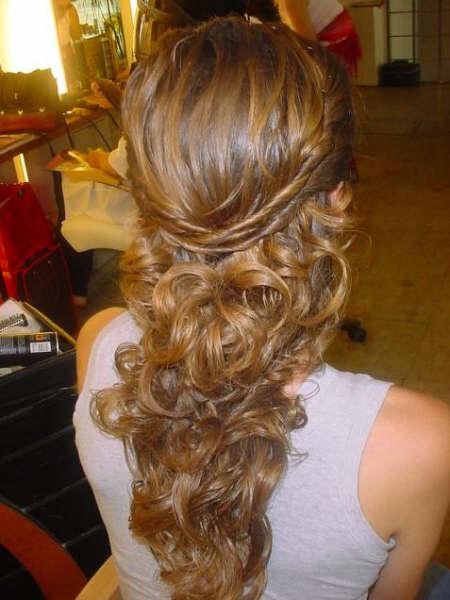 El malet n de natacha eventos que hago con mi pelo - Peinados de boda semirecogidos ...