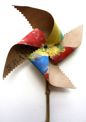 make a paper windmill