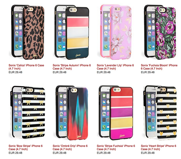 carcasa iphone 6 chica