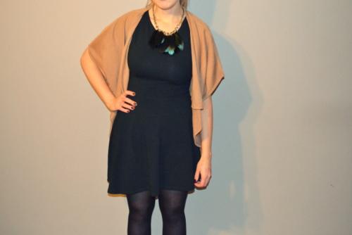 black-skater-dress