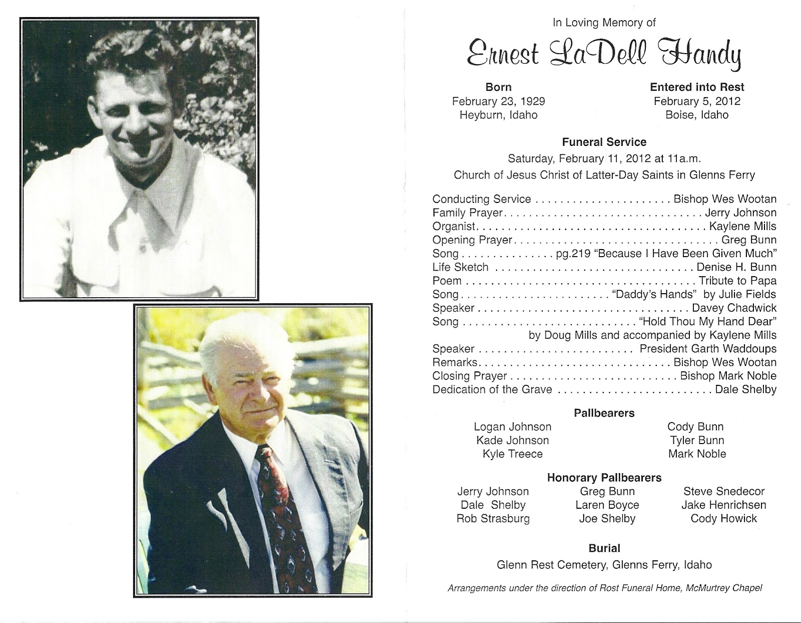 Funeral Program Templates Free Our Favorite Actually Free Funeral