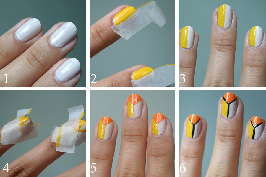 tri nails guest post step by step tutorial pictorial - (*-*-*   Life Style & Fashion November's Competition *-*-*)