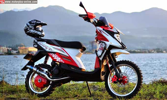 Modifikasi Ringan Yamaha X Ride