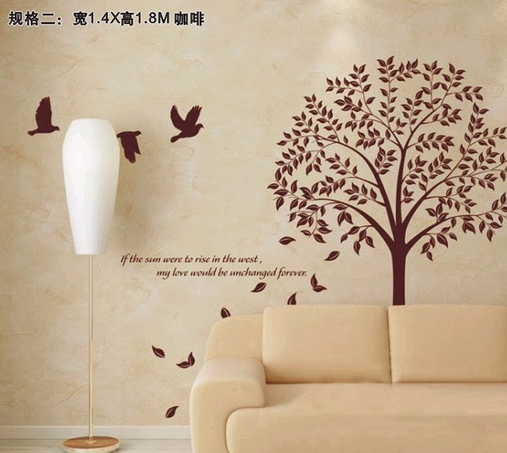variasi wallpaper dinding rumah minimalis modern gambar