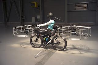 تصنيع اول دراجة طائره فى العالم
