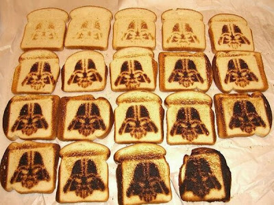 How to Make Star Wars Toast  Seen On www.coolpicturegallery.us