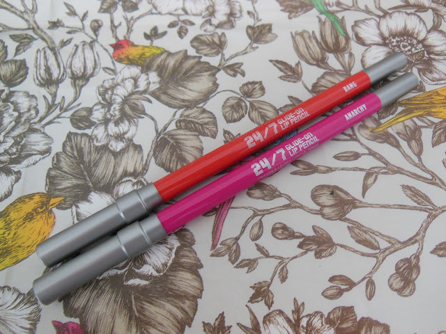 Urban Decay Revolution Lipliners Anarchy and Bang