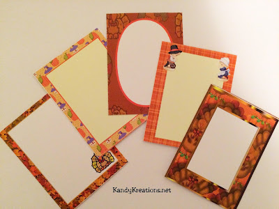 Thanksgiving Printable Journaling Cards