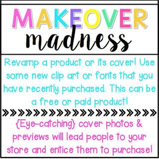 http://www.peppyzestyteacherista.com/2015/06/tpt-seller-challenge-makeover-madness.html