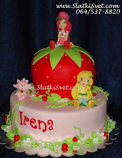 Torta Jagodica Bobica