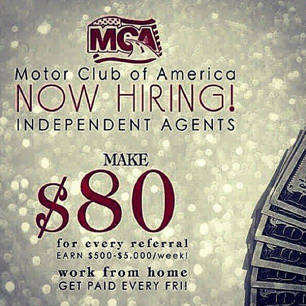 Make Money Today With The Motor Club Of America