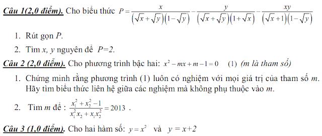 đề khảo sát chất lượng đầu năm môn toán lớp 10, 11, 12
