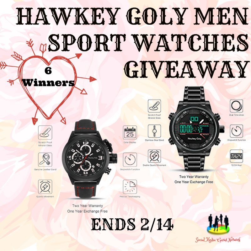 Hawkey Goly Men Sport Watches