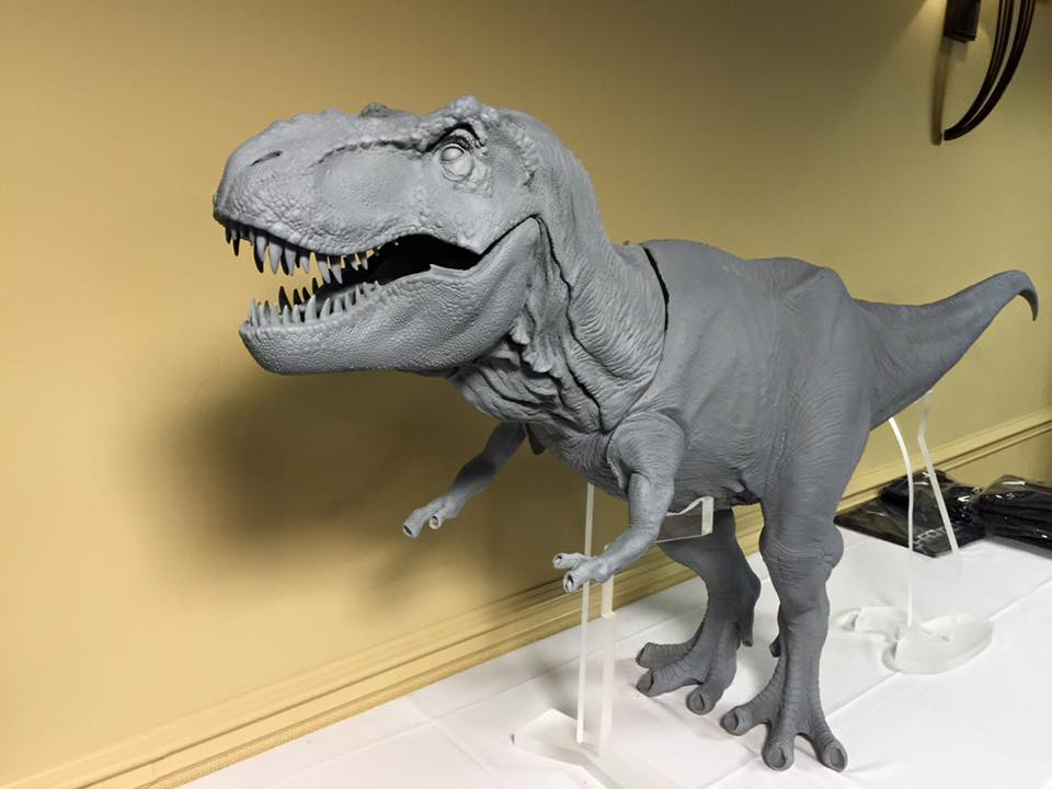 chronicle collectibles releasing jurassic park t rex statue jurassic world 2 movie news. Black Bedroom Furniture Sets. Home Design Ideas