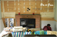 Fireplace Makeover DIY Project