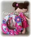 Bambola e ghirlanda personalizzate