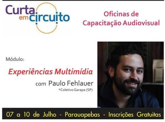 Circuito Cinema Parauapebas : EspaÇo aberto pebas paulo fehlauer fundador da casa