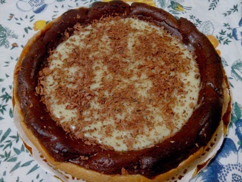Tarta de Nutella y Chocolate Blanco