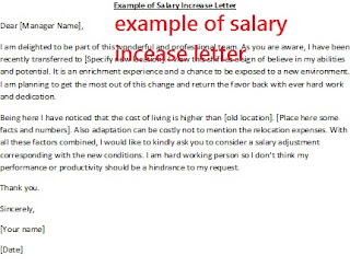 example of salary increase letter picture