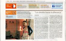 En el diario Clarin
