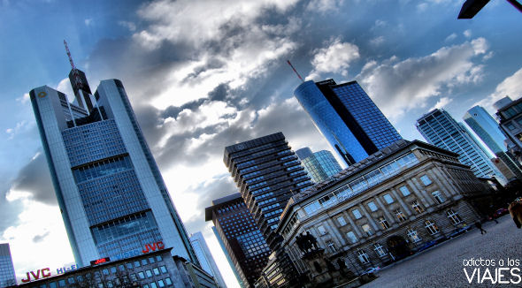 rascacielos de frankfurt