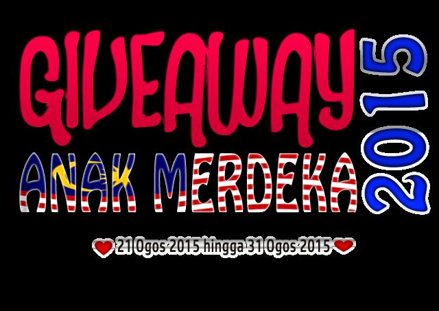 Giveaway Anak Merdeka 2015