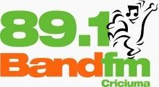Rádio Band FM da Cidade de Criciúma e Aranraguá ao vivo