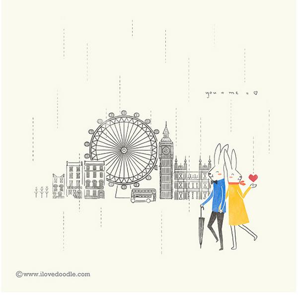 Lim Heng Swee. I Love Doodle. Doctor Ojiplático