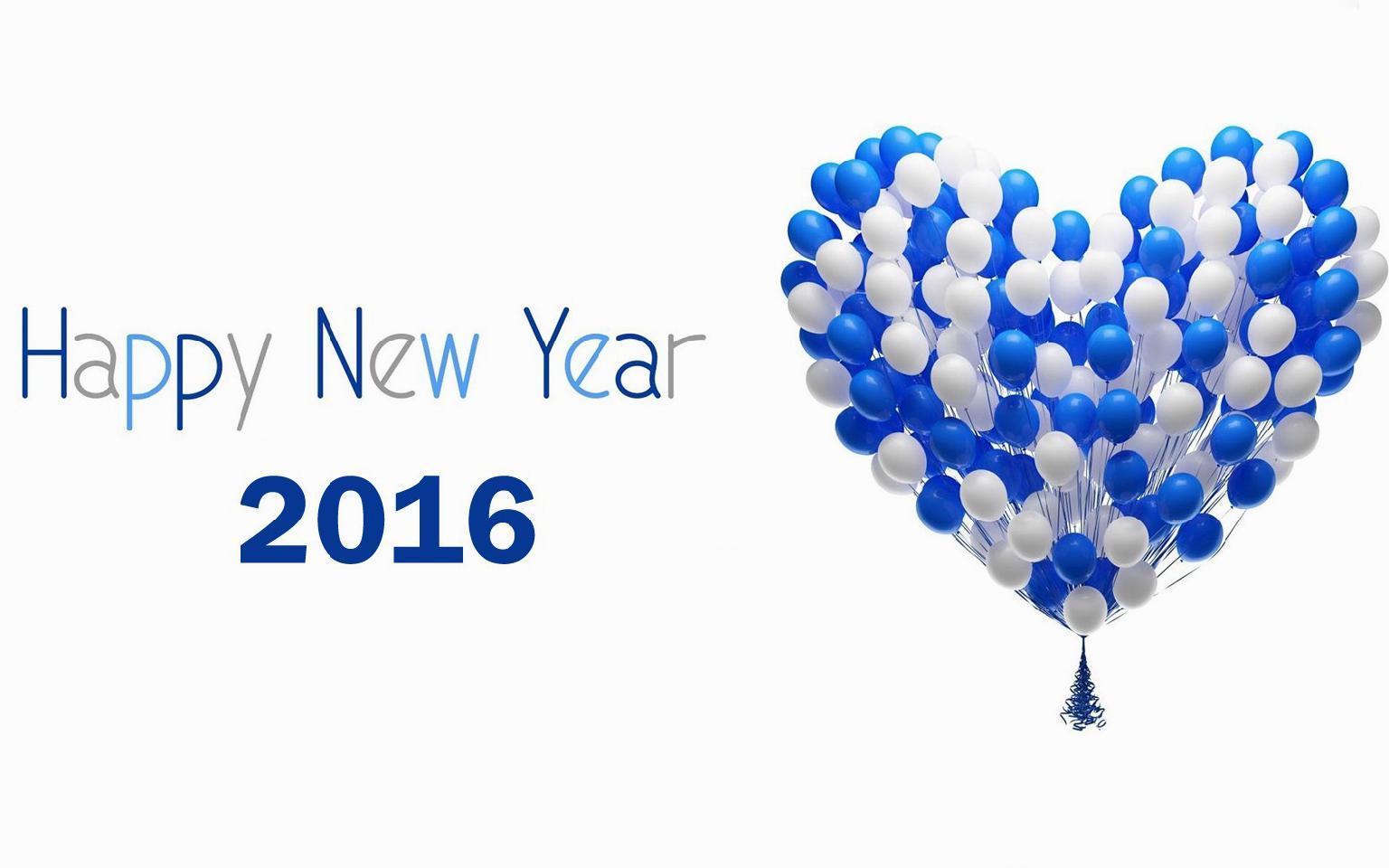 GAMBAR SELAMAT TAHUN BARU 2016 Kartu Ucapan Happy New Year HD DP BBM ...