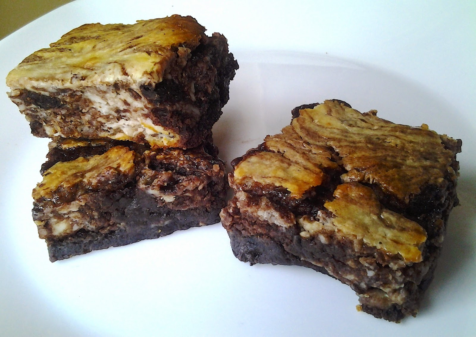 duncan hines cheese brownies