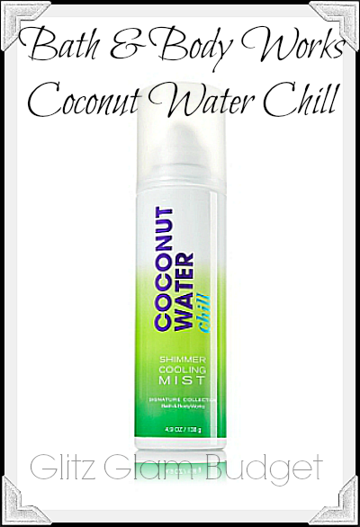 Signature Collection Shimmer Cooling Mist Coconut Water Chill