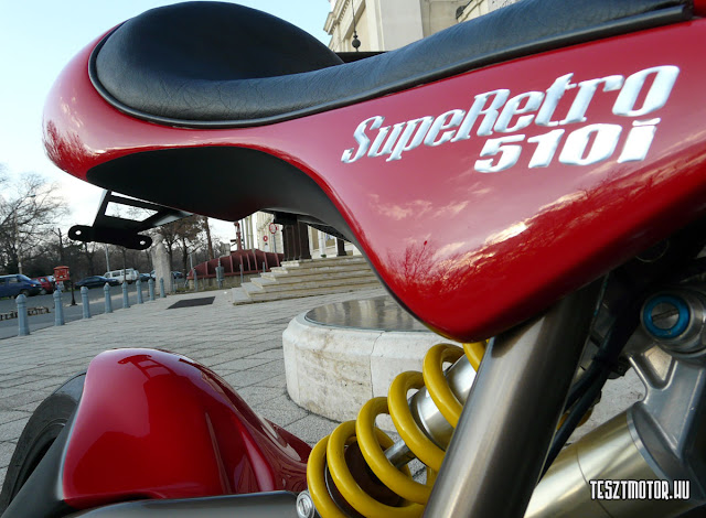 Danuvia SupeRetro 510i |  Modern Cafe Racer | Hungarian Motorcycles