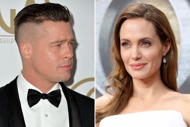 Воображаемые Знаменитости Соединения: Что Анджелина Джоли думает о Брэда Питта новую стрижку