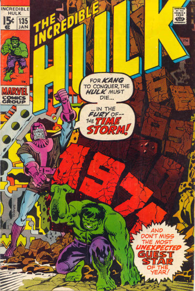 Incredible Hulk #135, Kang the Conqueror