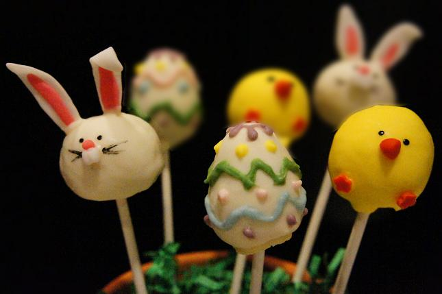 easter bunny cake images. easter bunny cake pops.