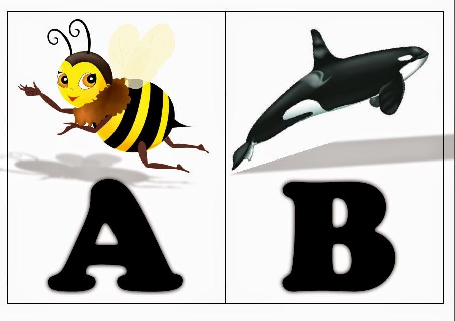 Populares Atividades para Educação Infantil: Alfabeto dos Animais CV43