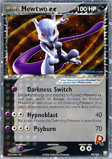 Rocket's Mewtwo EX Team Rocket Returns Pokemon Card Set