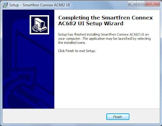Download dan Cara Install Modem SmartFren Connex AC682