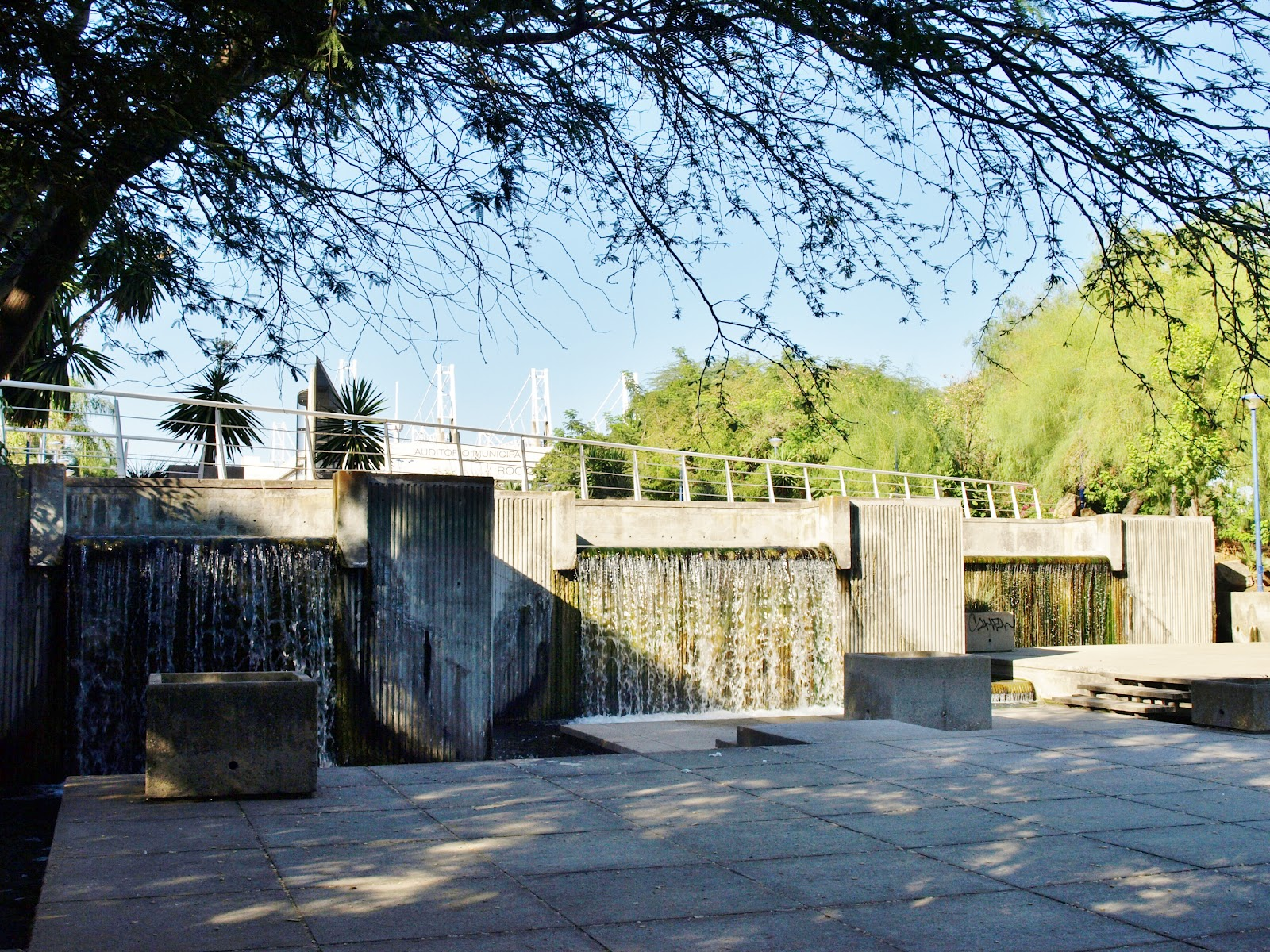 Sevilla daily photo la cascada del jard n acu tico for Jardin acuatico