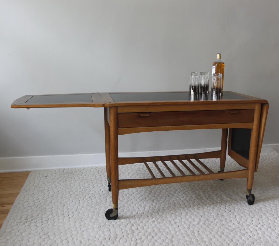 str8mcm mid century bar cart. Black Bedroom Furniture Sets. Home Design Ideas