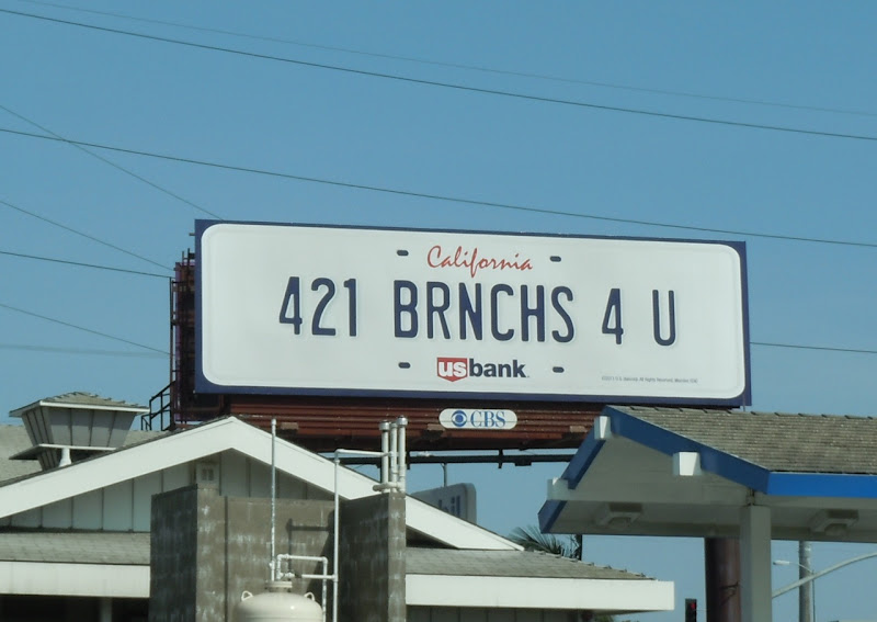 US Bank 241 Brnchs 4 U billboard
