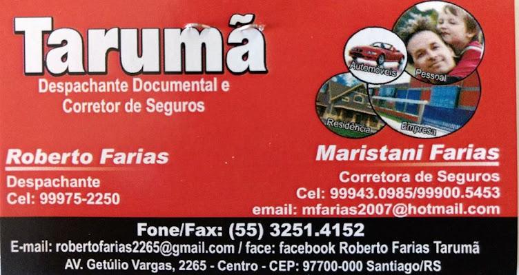 Tarumã Despachante Documental e Corretor de Seguros, exemplo de bons serviços em Santiago