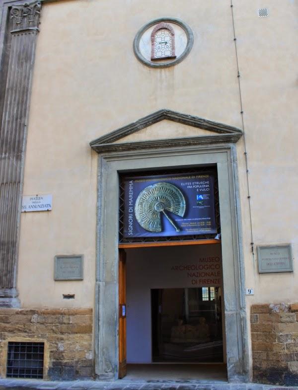 Florencja Muzeum Archeologiczne