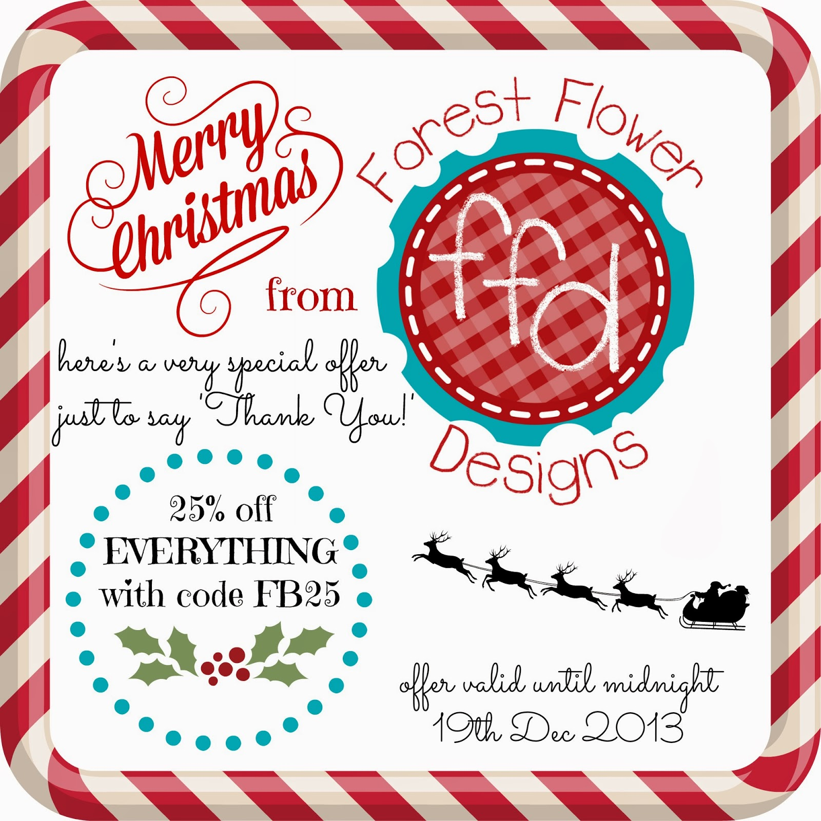 forest flower designs Special Christmas Discount Code