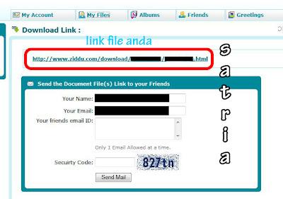 Panduan Lengkap Mengupload File Dengan Ziddu