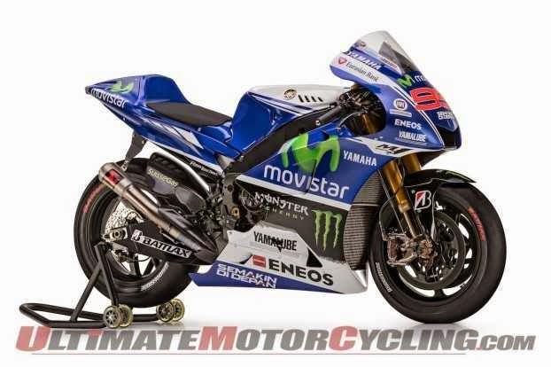 Gambar motor Yamaha MotoGP Movistar