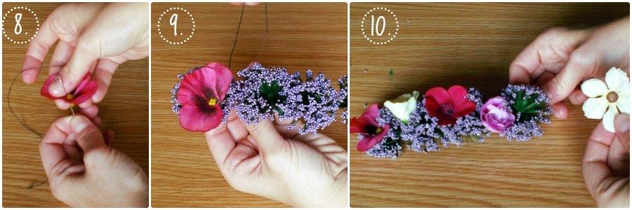 Colocamos las flores